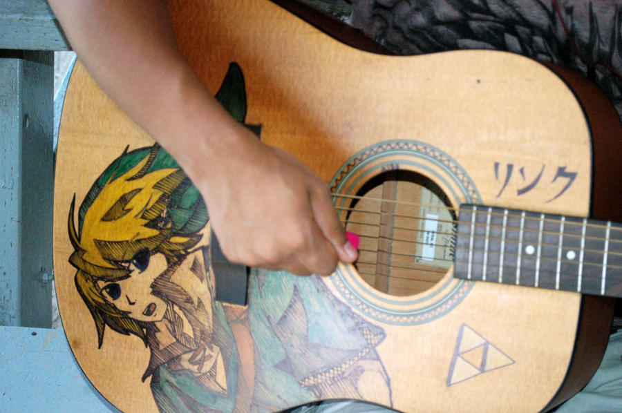Link Design Guitar by NikzSmiileyface