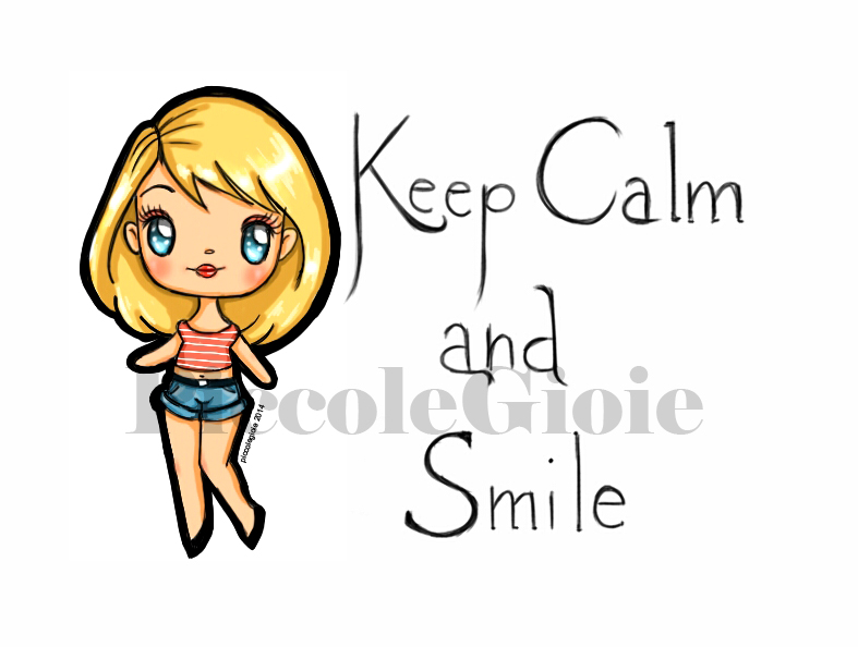 Keep Calm And Smile By PiccoleGioiefimo On DeviantArt