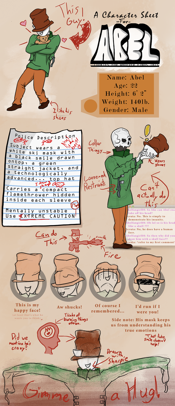 Character reference- Abel by Scruta