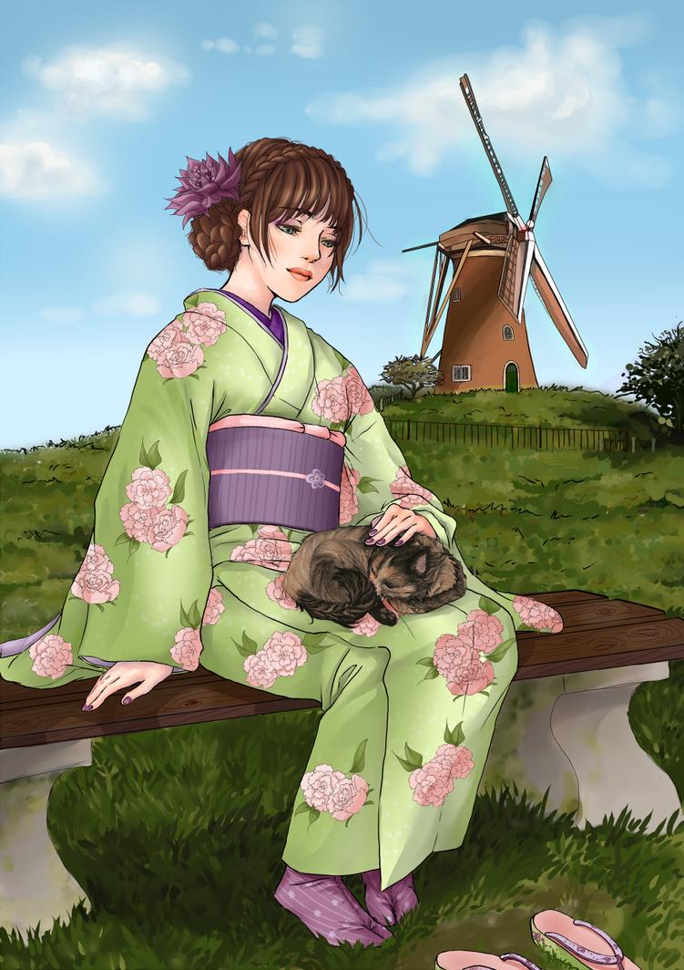 dutch vs japan by chibistef