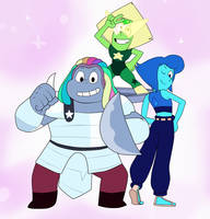 The New New Crystal Gems by Gamerboy123456