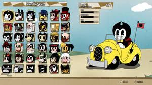 Bendy Kart - Character Select Screen