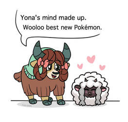 Yona and Wooloo by Pink-Pone