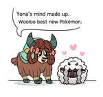 Yona and Wooloo