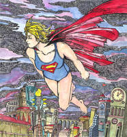Super Girl_color version by Qthe-one