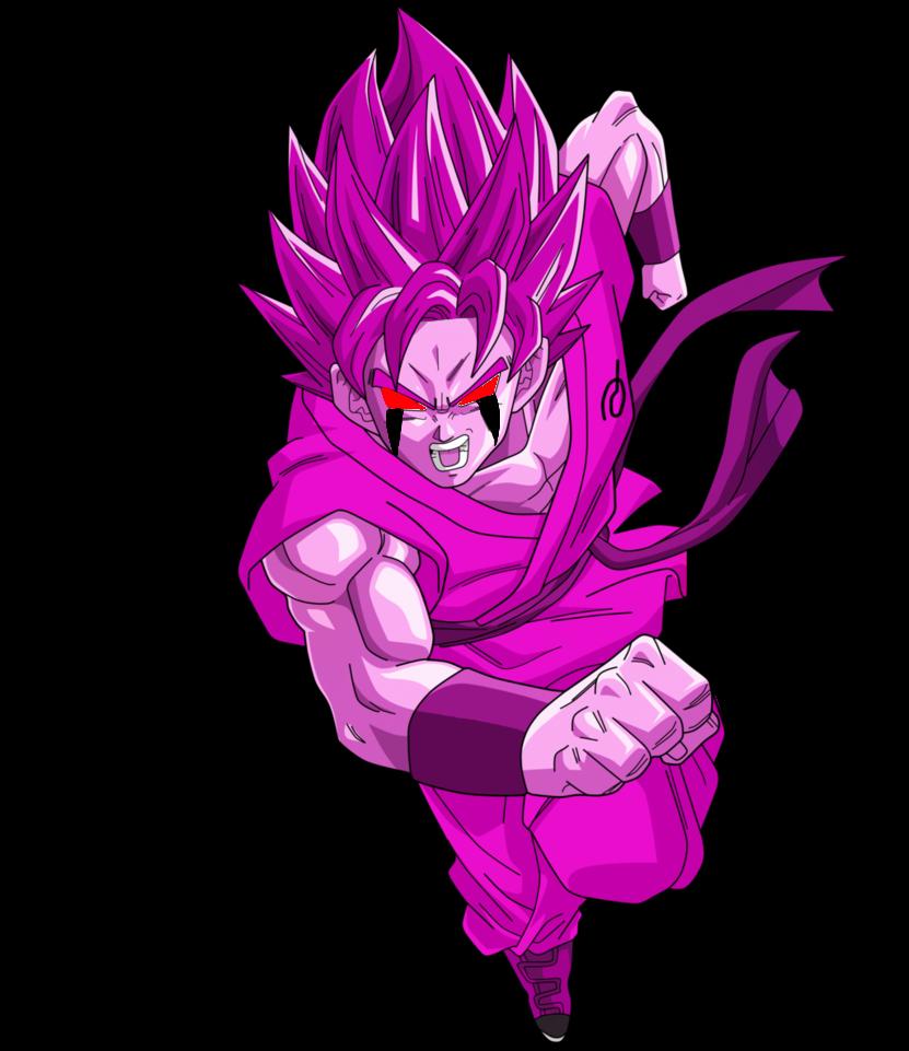 Corrupted Ssb Goku By Xxextremesamx On Deviantart