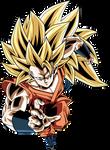 SSJ3 Goku Recolor (XV Colors)