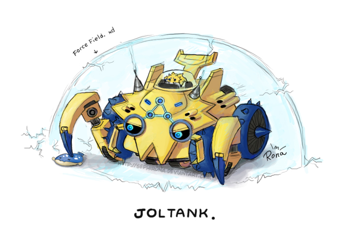 Shiny Joltik Because j...