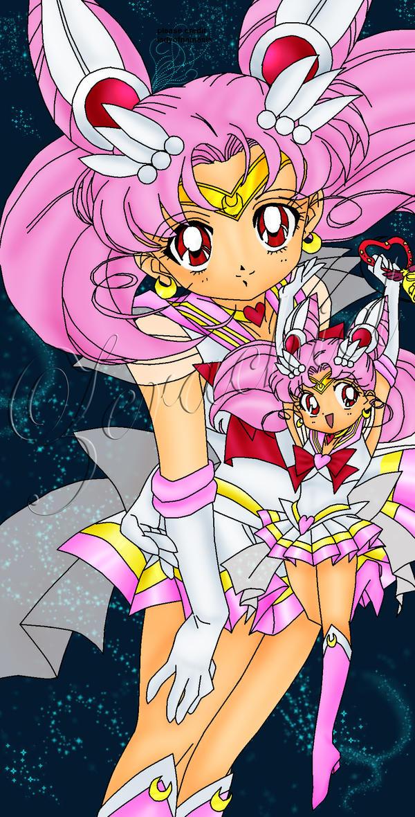 Sailor Chibi moon by Tseng-Akera