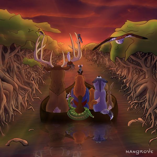Mangrove by Riversun
