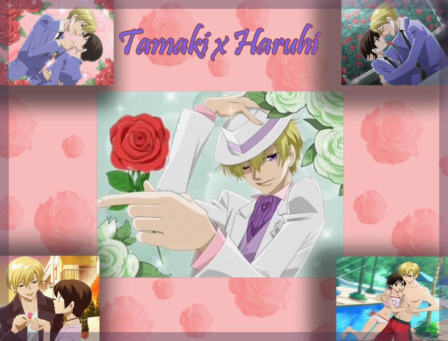 Tamaki X Haruhi Wallpaper By Candymoxie Deviantart – Dibujos Para