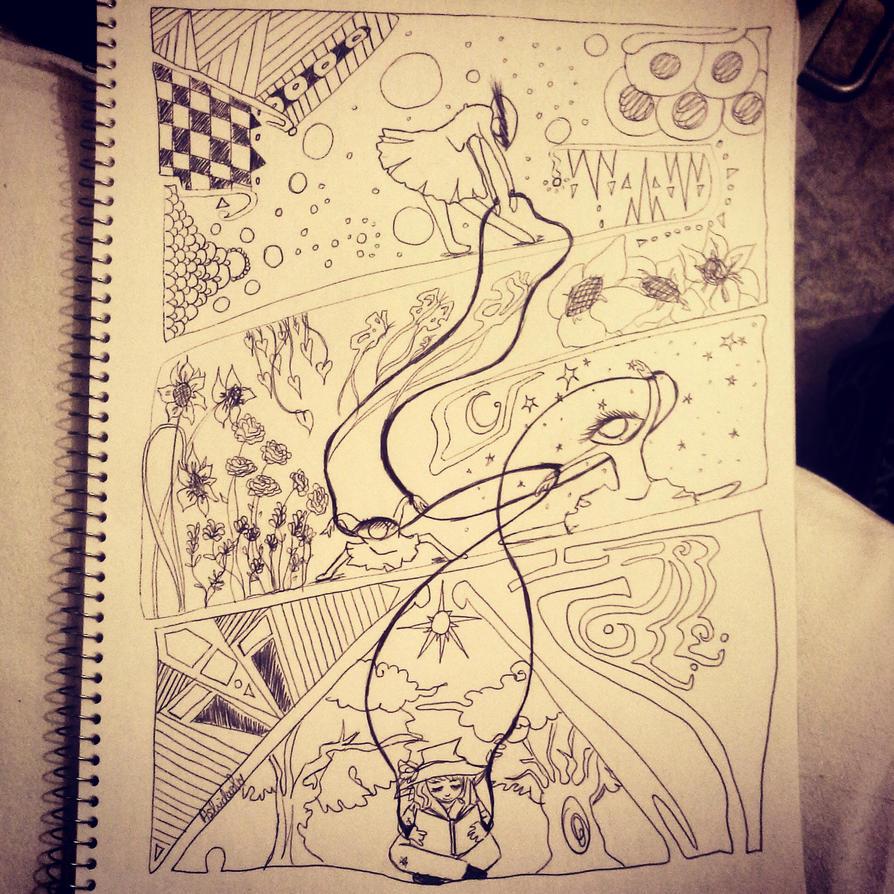 Imagination by astridaol