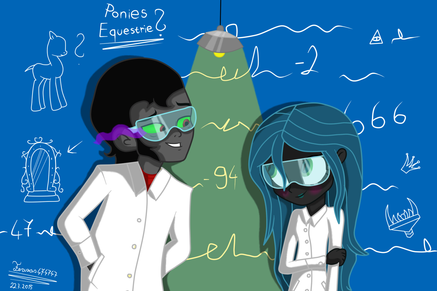 Queen Chrysalis And King Sombra Eg king Sombra And que...