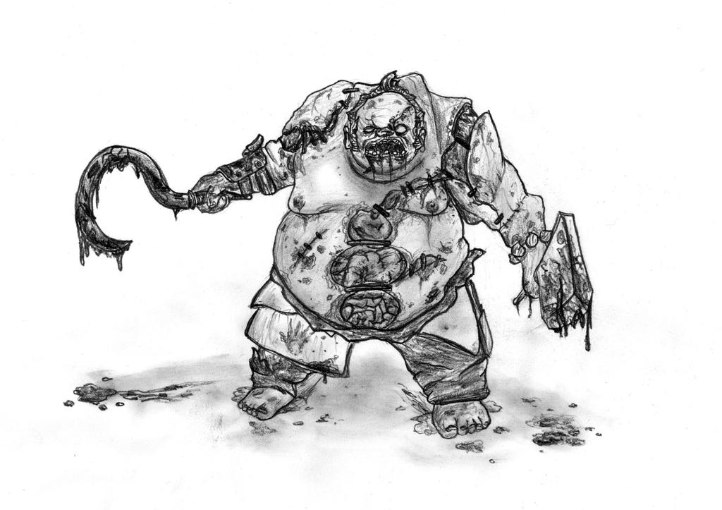 dota 2 pudge by cubeman99 on deviantart