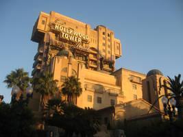 Disneyland Tower of Terror by AngelXSonic