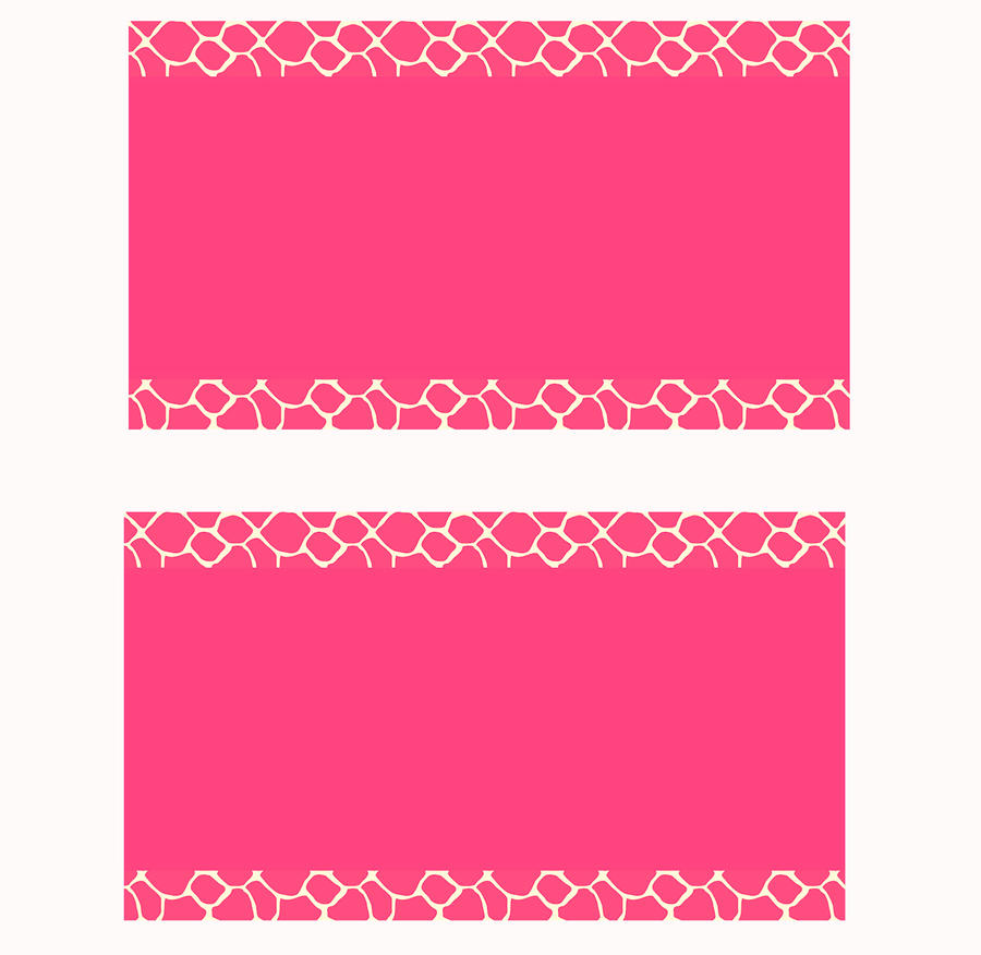 Pink giraffe business card templates by stacyo on deviantart pink giraffe business card templates by stacyo flashek Choice Image