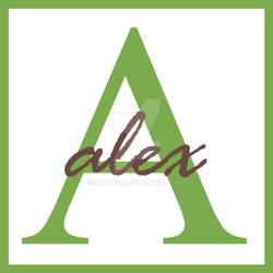 Alex Monogram Name
