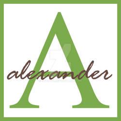 Alexander Monogram Name