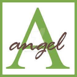 Angel Monogram Name