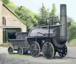Beamish Steam Speedpaint
