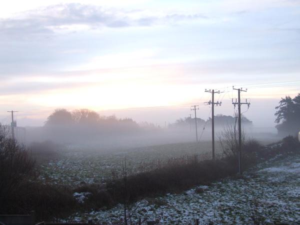 Mayo field Winter