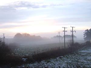 Mayo field Winter by Iron-Chicken