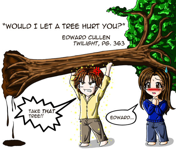 Would I Let a Tree Hurt You? by AnimeChick4DDR