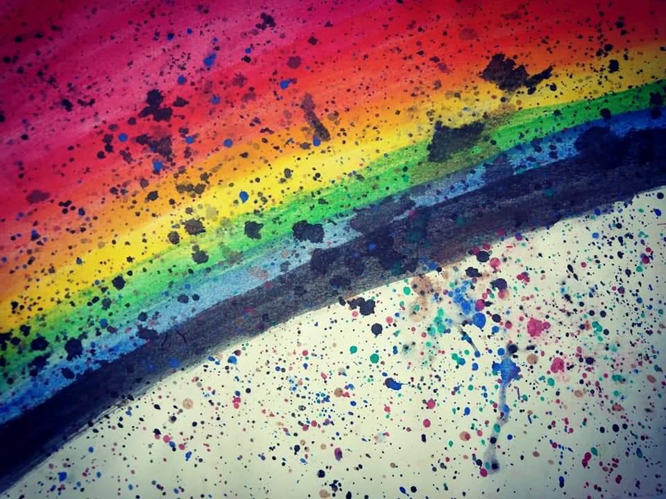 Over the rainbow by BlackBloodyRose56