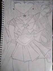 Sailor Mars by BlackBloodyRose56