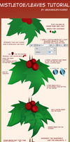 Holly berry/Kissing plant/Leaves tutorial