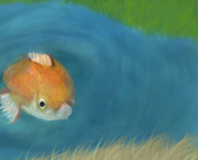Grumpy Goldfish by Weaklinger