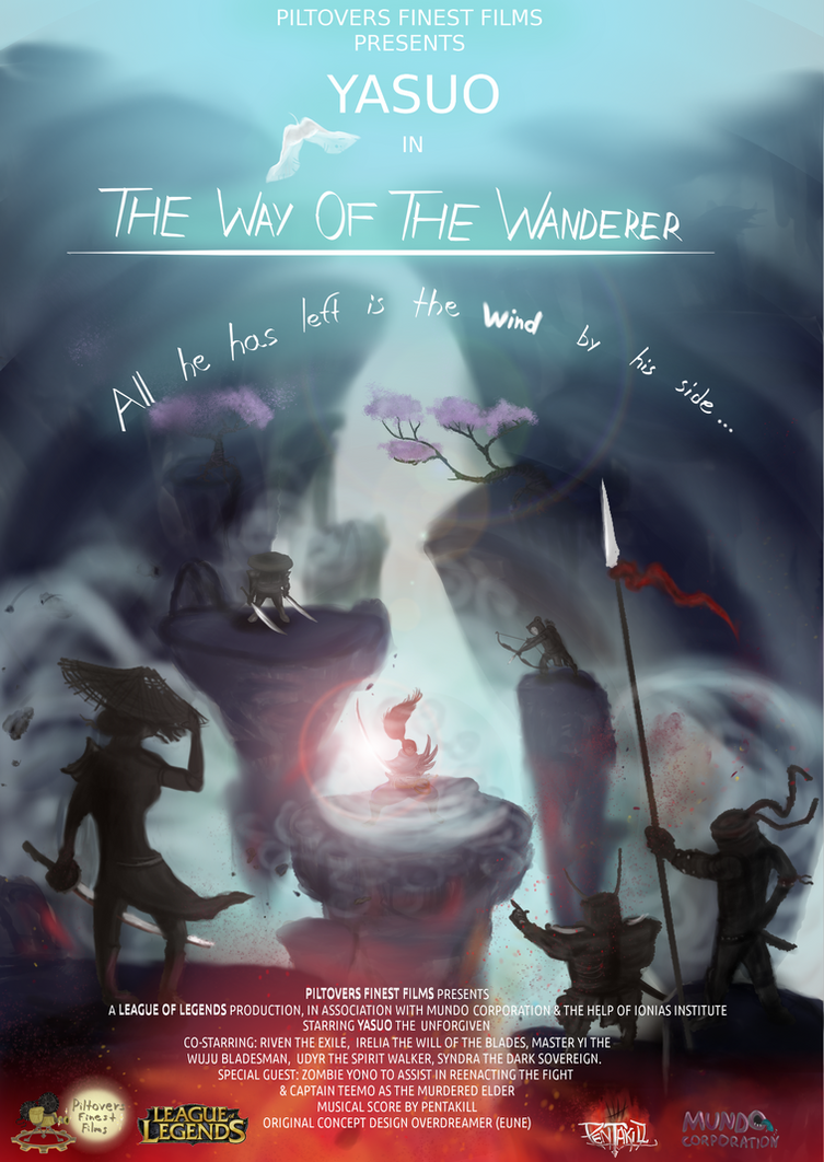 Yasuo Fan Art Contest The Way Of The Wandere...