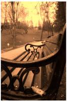 Park Bench.. by NosferatusaL