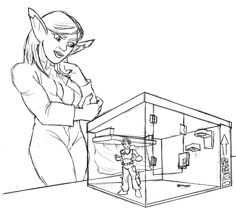 confinement confusion by TriffRaff