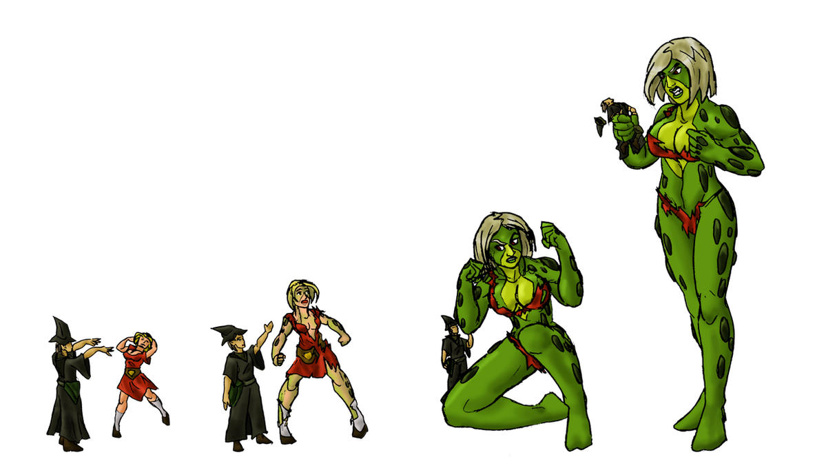She Hulk Transformation Deviantart By triffraff on deviantart