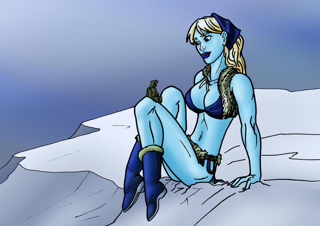 the frost giant's little friend by TriffRaff