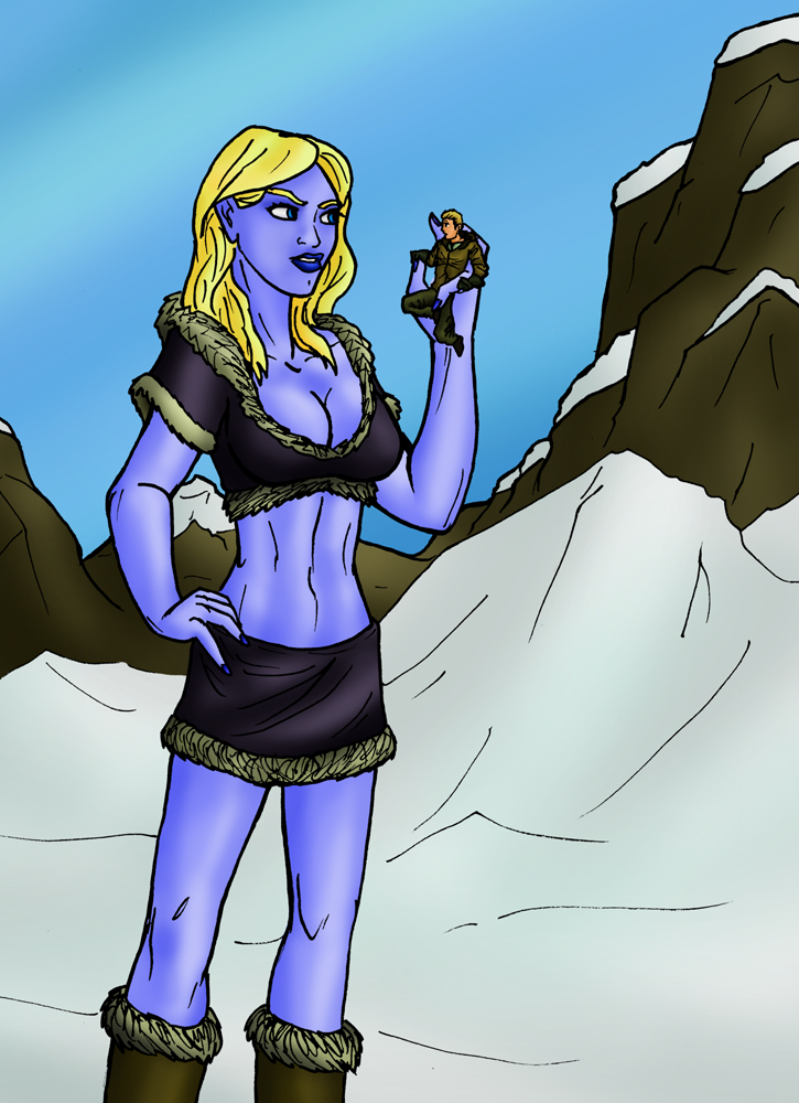 the frost giant's find by TriffRaff