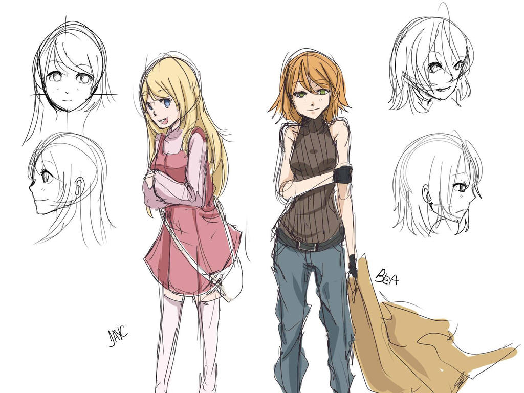 Character Design Study : Optg character study by hzrinv on deviantart