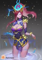 Lunar Wraith Caitlyn (Patreon) by SongJiKyo