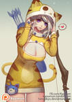 Ashe with Meow Kai costume