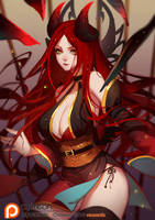 Demon Irelia by SongJiKyo