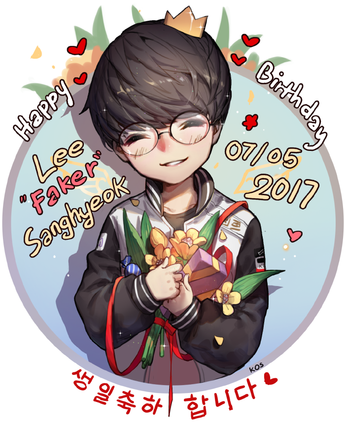 Happy birth day to Faker by SongJiKyo