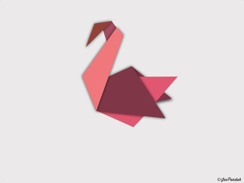Origami Crane By JaePundah