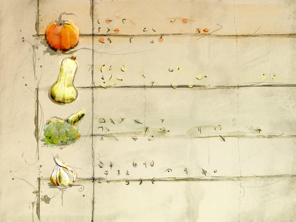 Visual Vegetable Haiku by netghost