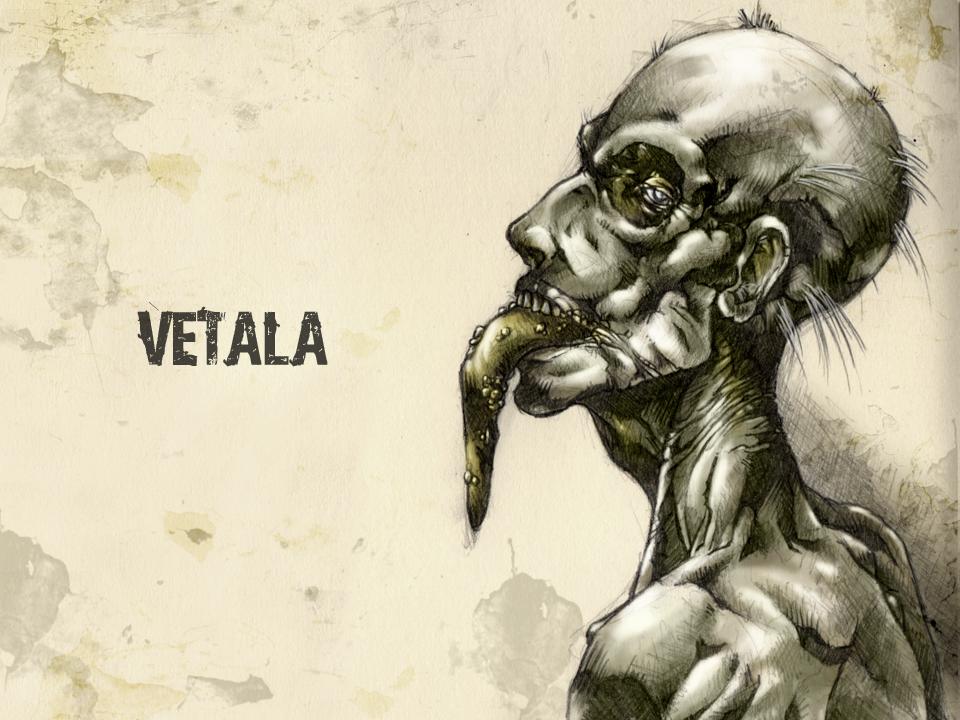 #31DaysofMonsters DAY 3: Vetala by franciscomoxi