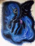 Nightmare Moon Painting