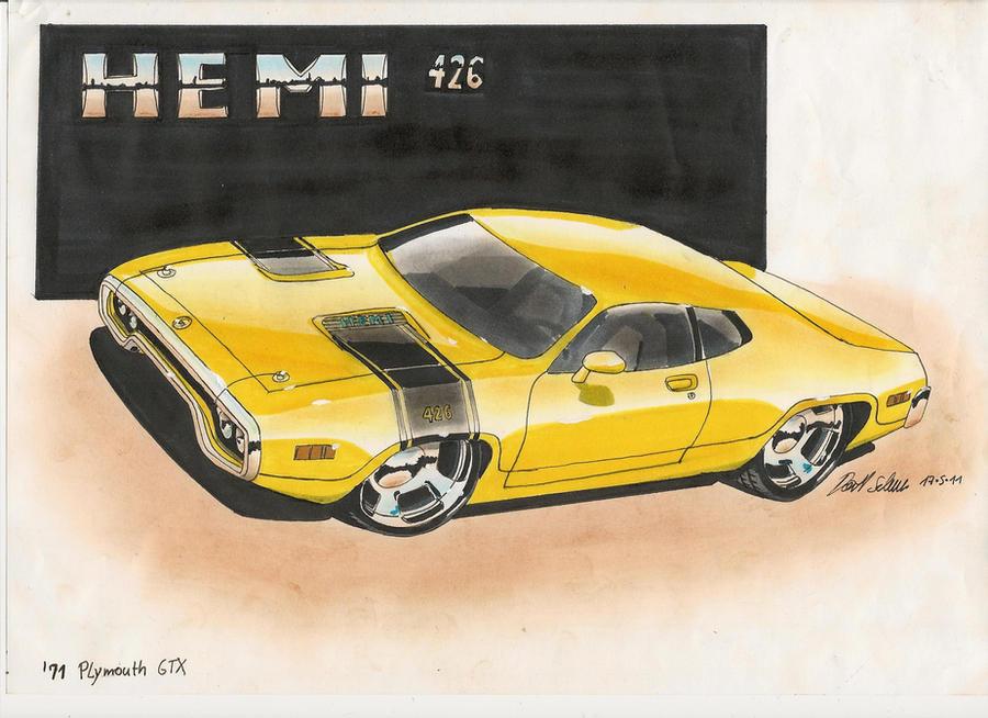'71 Hemi GTX