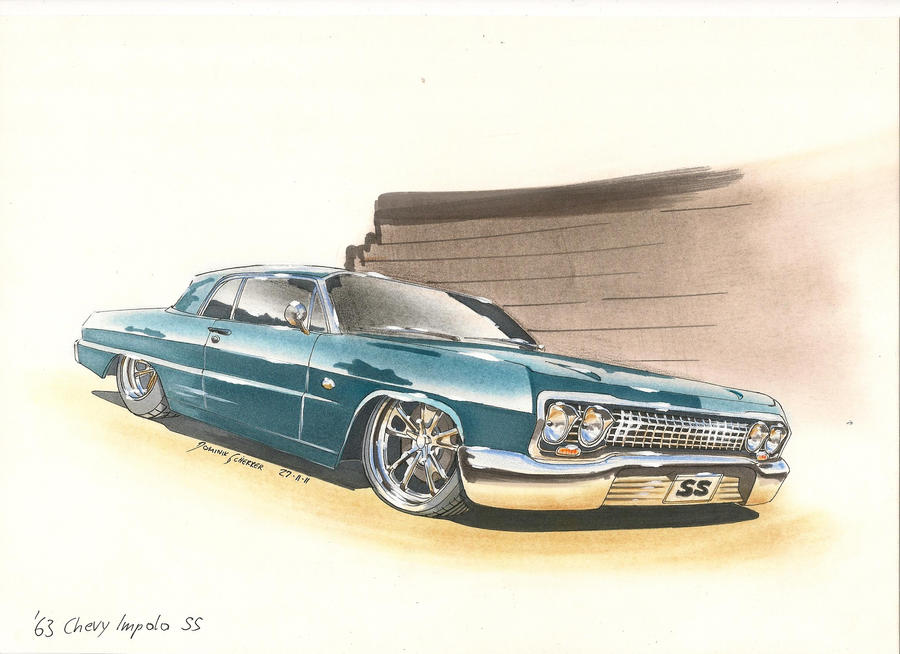 63 Impala Car Painting