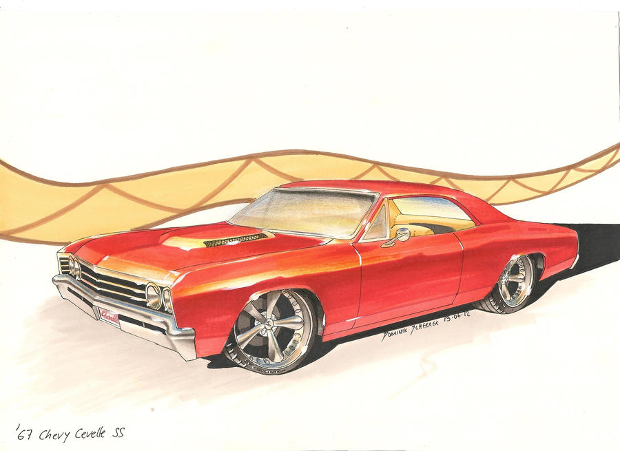 '67 Chevelle Car Art