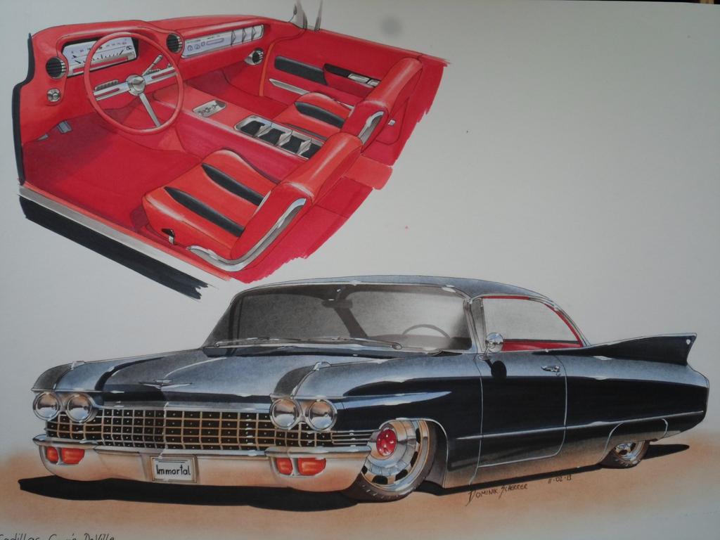 60 Cadillac Coupe Deville by DominikScherrer on DeviantArt